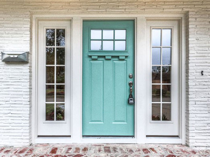 Front Doors Make The First Impression Americana Homes Inc